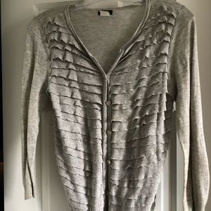 Jcrew 3/4 sleeve lightweight cardigan size small